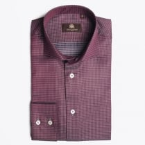 - Kael WS Shirt - Bordeaux