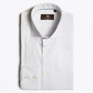 - Karcel Plain WS Shirt - White