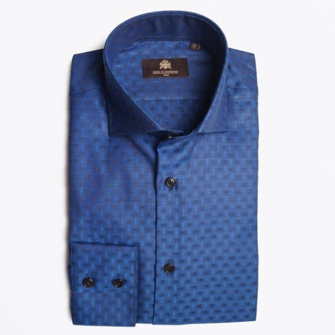 Circle Of Gentlemen - Kendal WS Shirt - Dark Blue
