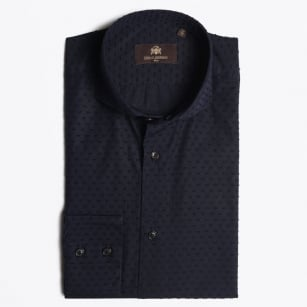 - Kevin Pinpoint Shirt - Navy