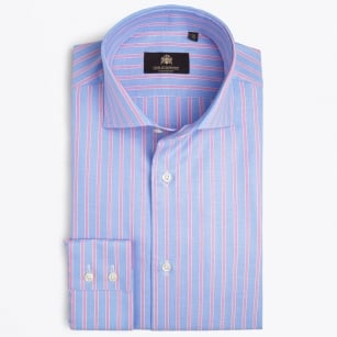 - Lane WS Limited Edition Shirt - Blue / Pink