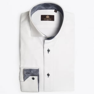 - Madison Avenue Insert Shirt - White