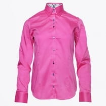 - Hummingbird Collar Shirt - Fuchsia