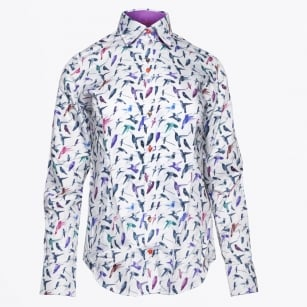 - Purple Hummingbird Shirt