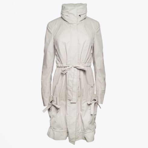Co Exist - Drawstring Parka with Concealed Hood - Sand