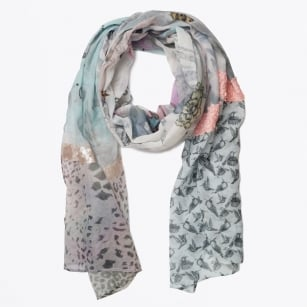 | Digital Big Dream Patch Scarf - Multicolour