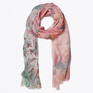 | Digital Print Scarf - Orange