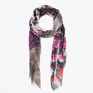 | Love Peace Scarf - Red