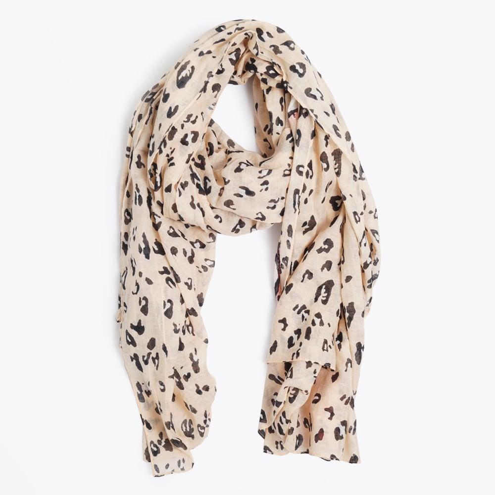 2d5fa835594b9c Codello | Leopard Print Scarf - Light Pink | Mr & Mrs Stitch