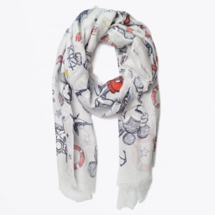 | Mickey Mouse Ahoy Scarf - Blue