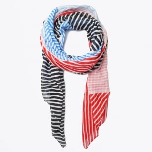 | Sailor Stripes Scarf - Blue