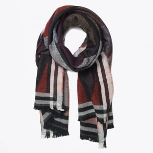 | Snow Festival Scarf - Orange