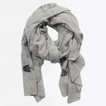 - Star Wars Darth Vader Print Scarf - Light Grey