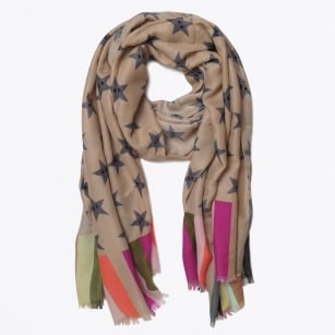 | Stars and Stripes Scarf - Multicolour