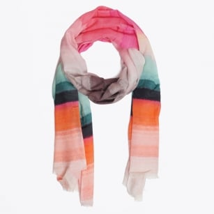 | Sunset Stripes Scarf - Multicolour