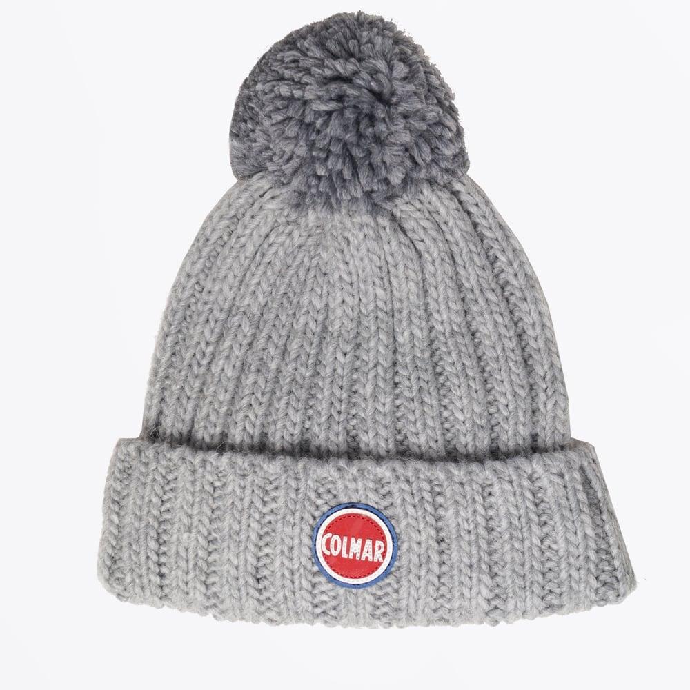a578b630c49 Colmar - Bobble Hat - Grey