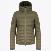 - Mens Padded Jacket with Hood - Olive
