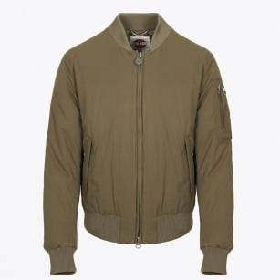 - Non Crease Bomber Jacket - Oil