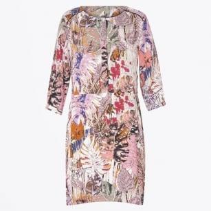 | Jungle Print Dress With Pockets