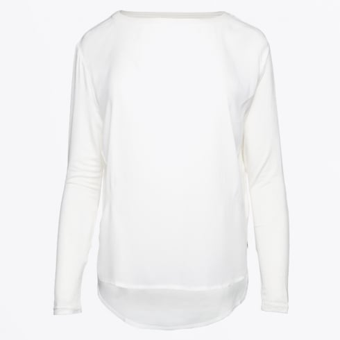 Coster Copenhagen - Mixed Jersey Top - Off White