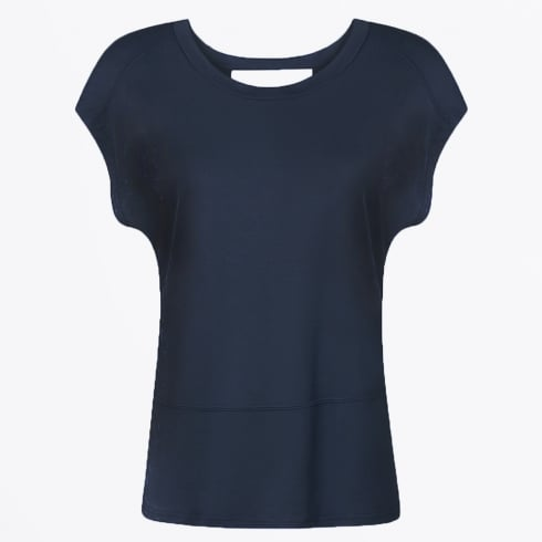 Coster Copenhagen - Modal Jersey Top - Dark Blue