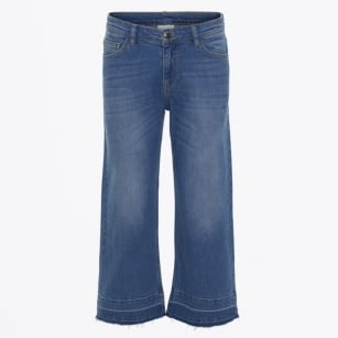 - Boat Denim Trousers - Indigo