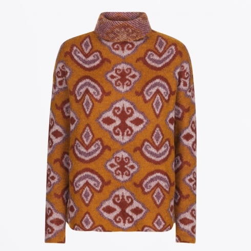 Day Birger et Mikkelsen - Handira Funnel Neck Knit - Saffron