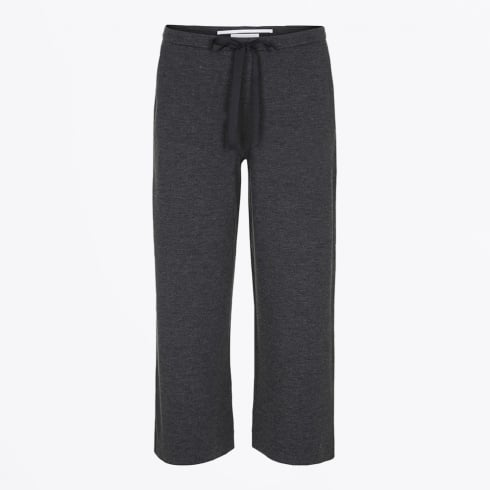 Day Birger et Mikkelsen - Sultana Wide Crop Trousers - Dark Grey