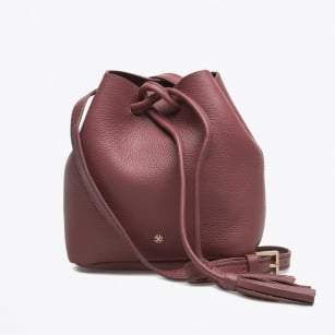 | Day It Small Leather Bucket Bag - Wild Ginger