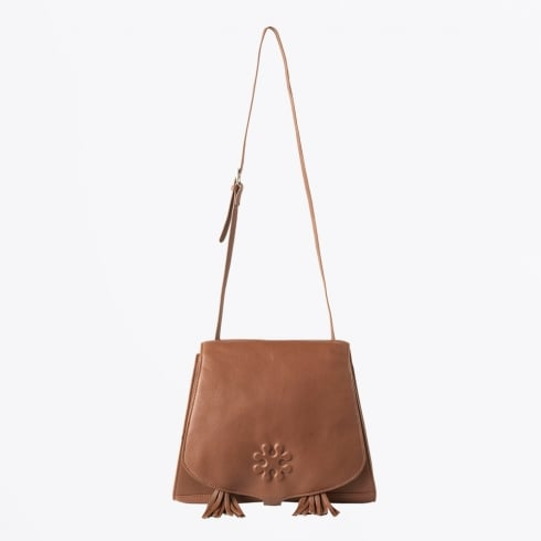 Day Et - Selleria Cross Body Leather Bag - Canelle