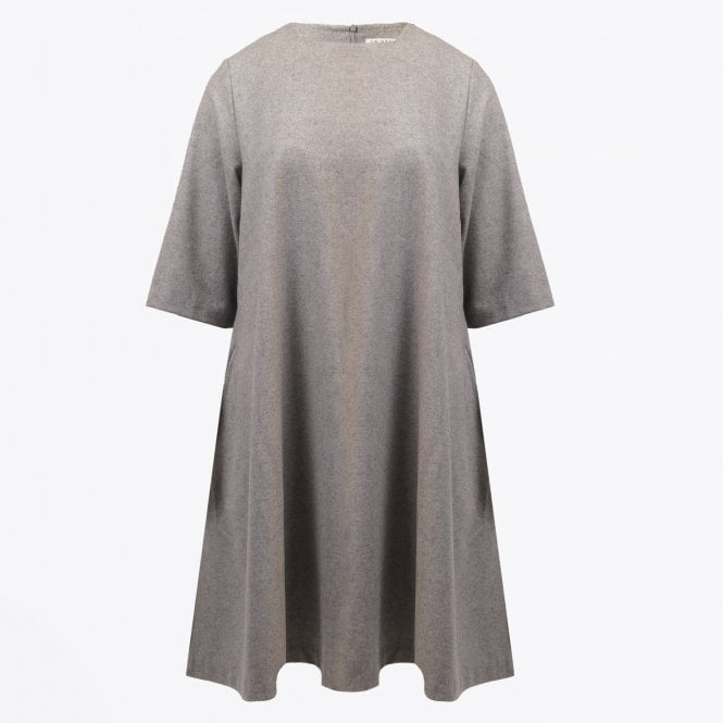 Emin & Paul - Wool Swing Dress - Grey