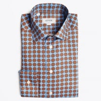 - Big Dot Shirt - Brown