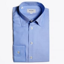 - Blue Diamond Woven Shirt