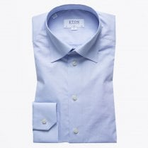 - Button Under Poplin Shirt - Sky Blue