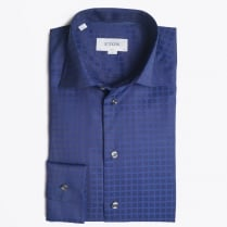 - Navy Signature Twill Shirt