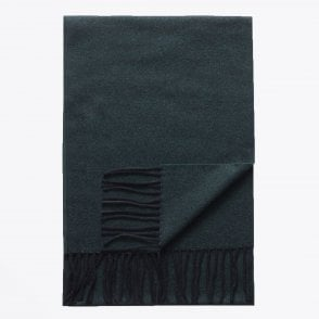 - Wool Scarf - Dark Green