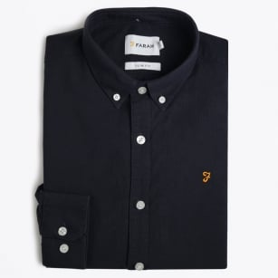 | Brewer Slim Fit Oxford Shirt - Navy