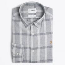 - Dylan Check Shirt - Grey