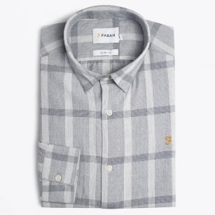 | Dylan Check Shirt - Grey