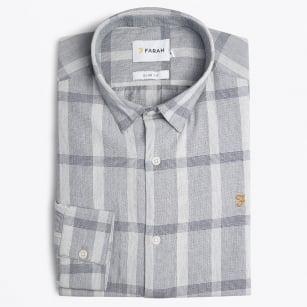 | Dylan Check Shirt - Grey