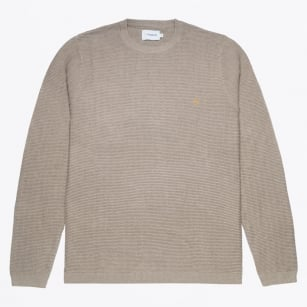 - Hastings Textured Sweater - Beige