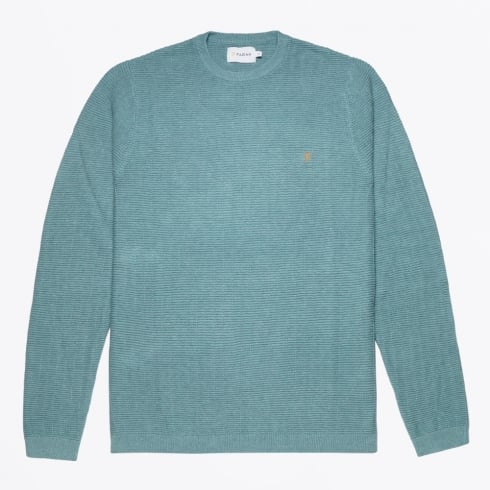 Farah Vintage - Hastings Textured Sweater - Green