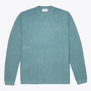 - Hastings Textured Sweater - Green