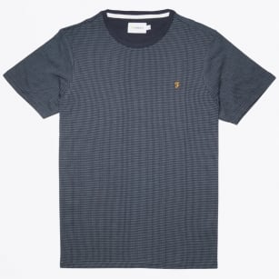 | Lawrence Jacquard T-shirt - Navy