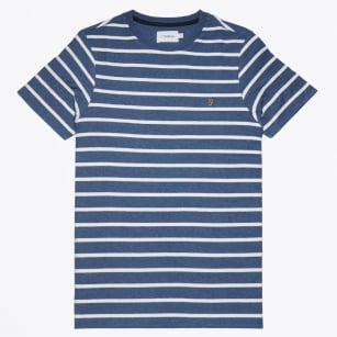 | Pickering Herringbone Stripe - Blue