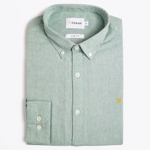 | Steen - Slim Oxford Shirt - Green