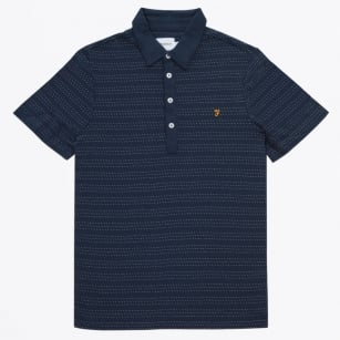 | The Bentley Short Sleeve Polo Shirt - Navy