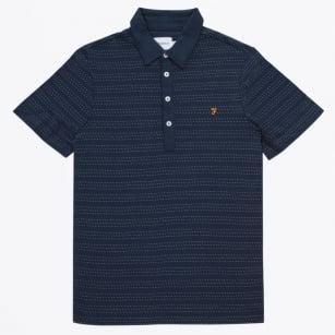   The Bentley Short Sleeve Polo Shirt - Navy