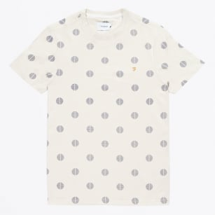 | The Clifton Big Dot Tee - Ecru