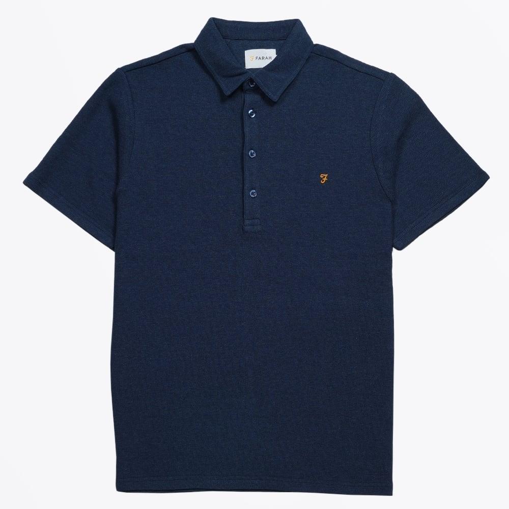 Mervin Knitted Polo Shirt  33d30bd25